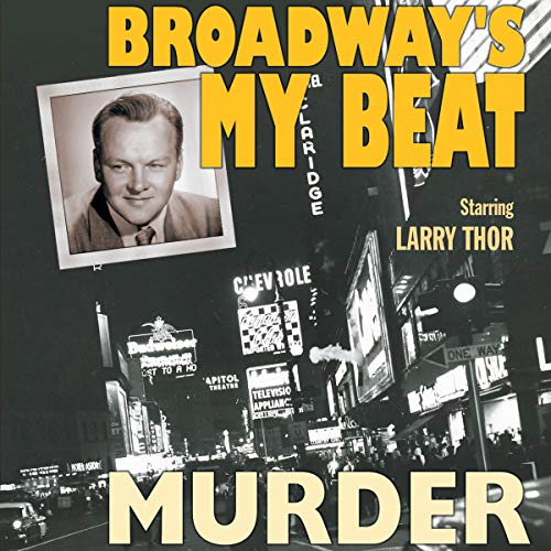 Broadway's My Beat: Murder audiobook cover art