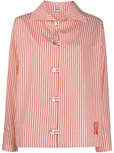 Kenzo Luxury Fashion Damen FA52CH0215AT36 Orange Hemd | Frühling Sommer 20