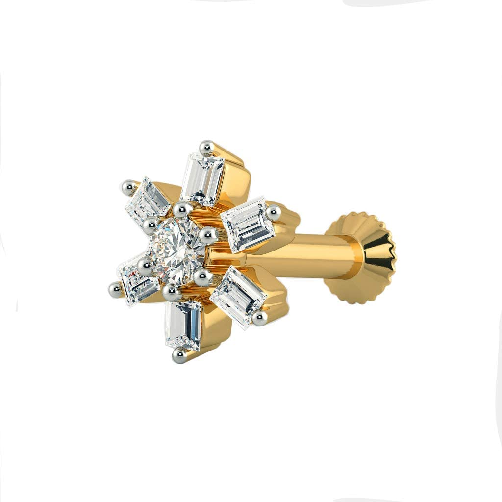 Ranking TOP3 Smile Sparkle 0.12 Be super welcome Cts Round Clear Sim Caladiu Diamond Women's