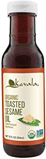 Organic Toasted Sesame Oil 12oz (BPA-free plastic bottle)