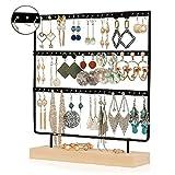 cajas para joyas Pendiente del Soporte de exhibición Pendiente de Rack de...