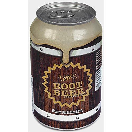 12 Dosen tem´s Root Beer (aber kein Bier) Powered by Mother Earth a 330ml inc. 6 Euro Pfand Erfrischungsgetränk mit Mehrfrucht Malz geschmack
