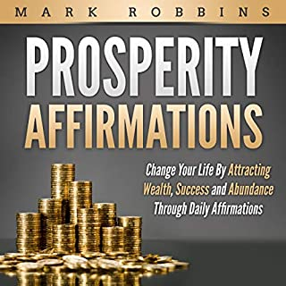 Prosperity Affirmations audiobook cover art