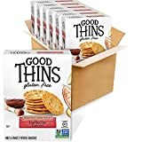 Good Thins Barbecue Rice & Sweet Potato Snacks Gluten Free Crackers, 6 - 3.5 oz Boxes