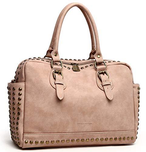 collezione alessandro Handtasche Amelia aus stark strukturiertem, griffigen Material 34cm x 24cm x 12cm