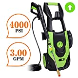 PowRyte 4000PSI 3.0GPM Electric Pressure Washer with Thermal Protector