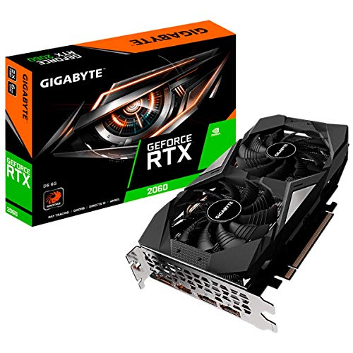 Gigabyte GeForce RTX 2060 Grafikkarte (6 GB, GDDR6)