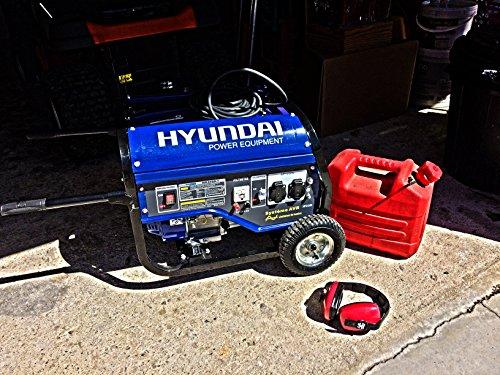 Hyundai HG3600-1 Groupe électrogène de chantier 2500/3000 W