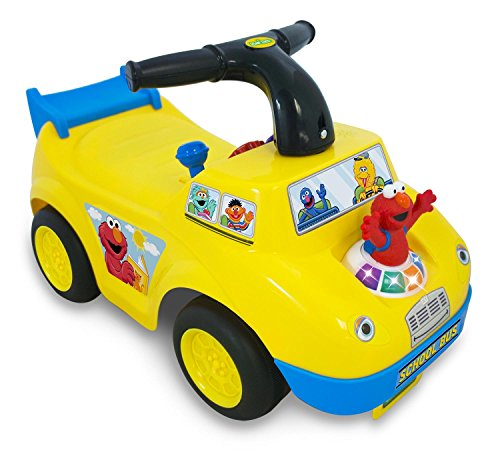 Sesame Street Elmo School Bus Ride-On