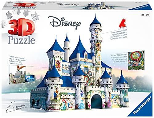 Ravensburger 3D Puzzle 12587 - Disney Schloss - 3D Puzzle für Erwachsene und Kin...