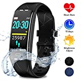 WOWGO Orologio Fitness Tracker, Smartwatch Braccialetto Fitness IP68 Impermeabile Contapassi...