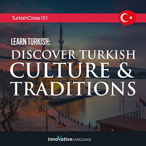 Learn Turkish audiobook cover art