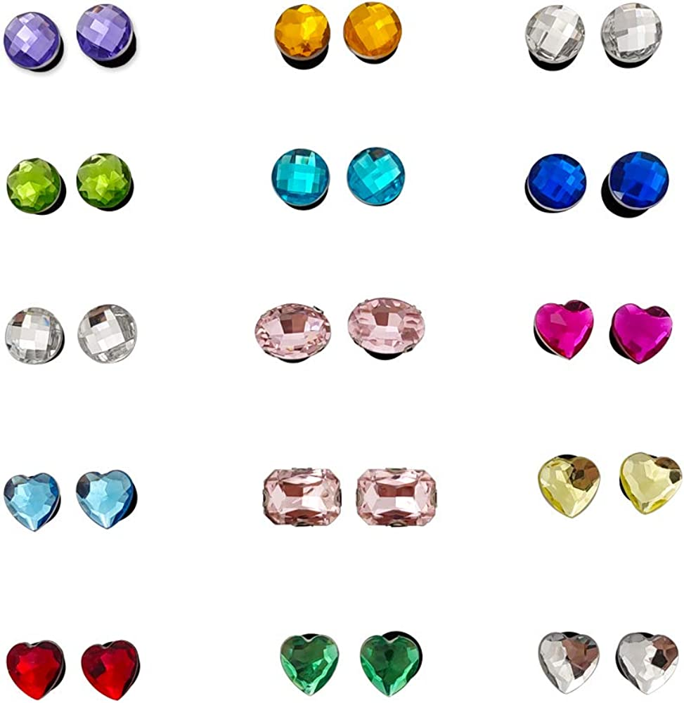 Dedication AMHDV Rhinestone Shoe Charms for Popular brand in the world Diamond Clog and Artificial PV
