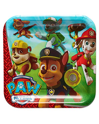 American Greetings Paw Patrol Paper Dinner Plates for Kids (40-Count)