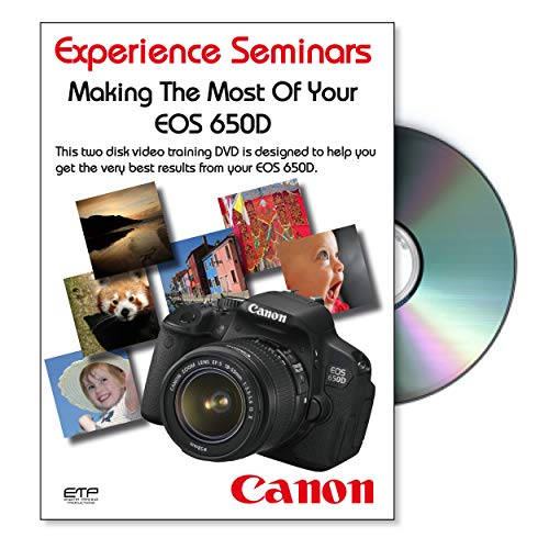 Making The Most Of Your Canon EOS 650D Camera Training DVD