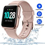 Smart Watch for Men, Fitness Tracker for Women with Heart Rate Monitor, Activity