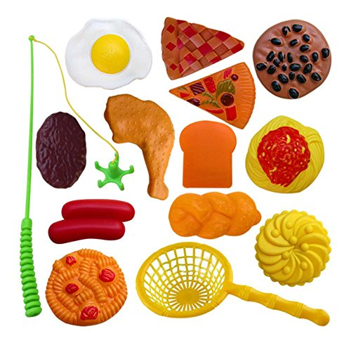 28 Pièces jouets de pêche pour les enfants/beaux joujoux de poissons, NO.10