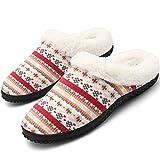 Uomo Donna Inverno Pantofole Scarpe Caldo Peluche Cotone Scarpe...