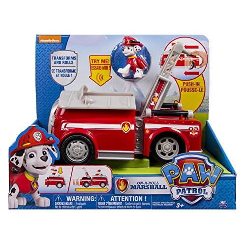 PAW Patrol 6023996 - Deluxe Transforming FireTruck wMarshall - Online Exclusive