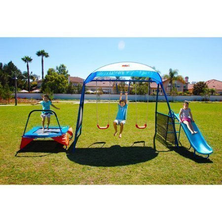 NEW Inspiration 250 Fitness Playground Metal Swing Set