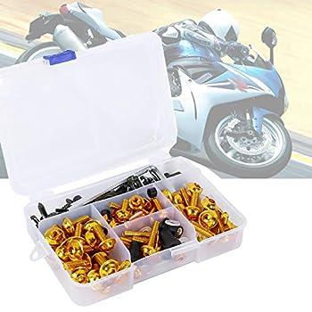 Motorcycle Fairing Bolt Kit Fasteners Bodywork Screws for Suzuki Katana 600 750 1988 1989 1990 1991 1992 1993 1994 1995 1996 1997
