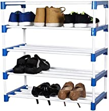 Digionics Multuipurpose Heavy Duty Strong and Durable Foldable   Shoe Stand   Shoe Rack   Collapsible Shoe Rack   Portable Shoe Rack   (5 Shelves)
