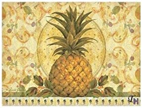 Pimpernel Golden Pineapple Placemats Large