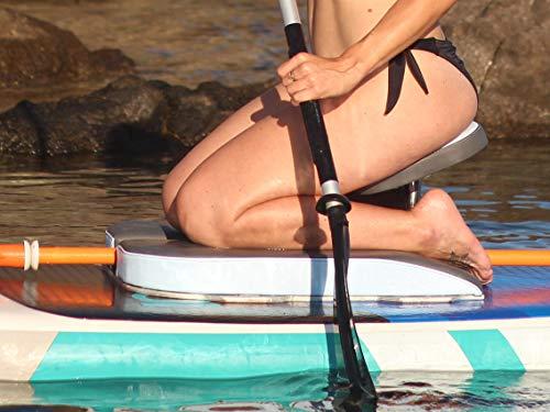 PaddleSit. Asiento para Paddle Surf, Tabla Sup Board. Ergonómico, Nuevo Concepto, Rema sobre Rodillas, máximo Confort