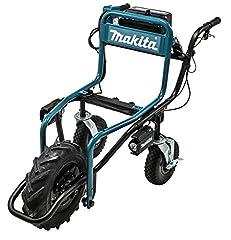 Makita DCU180Z Brouette (18,0 V, sans batterie, sans chargeur et uniquement disponible en combinaison avec des accessoires spéciaux, 250 watts)