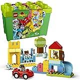 LEGO DUPLO La boîte de briques deluxe, Ensemble de construction avec rangement, Premières briques jouet d'apprentissage préscolaire pour tout-petits de 1,5 ans, 22 pièces, 10914