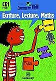 Ecriture, Lecture, Maths CE1