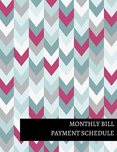 Monthly Bill Payment Schedule