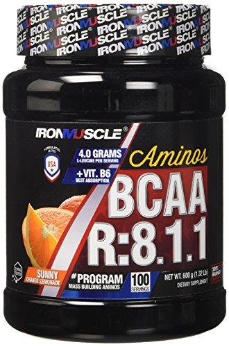 Iron Muscle Integratore Alimentare Bcaa 8:1:1-0.70 kilograms