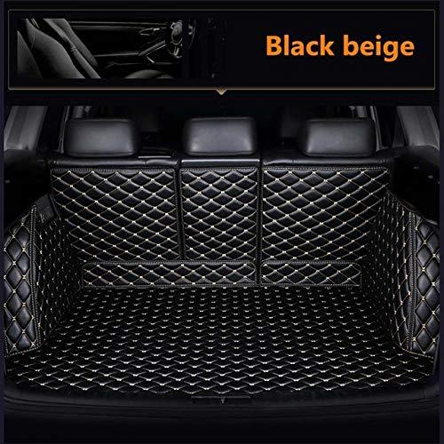 XHULIWQ Leder-Kofferraummatte, für Jeep Grand Cherokee WK2 2011-2017, Custom Boot Mat Interior Car Styling