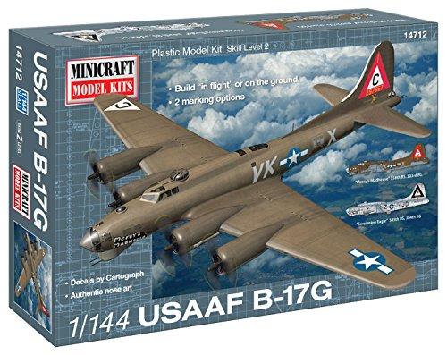 Minicraft Models Dempsey Designs Morceau modèles Echelle 1 : 144 cm B-17G u.s.a.a.f Mery Kit de Madhouse modèle