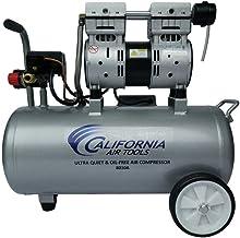 California Air Tools 8010A Ultra Quiet & Oil-Free Lightweight Air Compressor