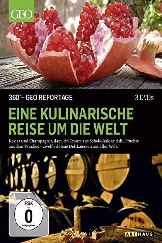 360° - GEO Reportage: Eine kulinarische Reise um die Welt [3 DVDs]