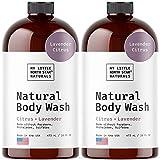 Body Wash - Natural Made in USA - Lavender Oil, Vitamin E, Essential Oils - Soap - Shower Gel - Womens Body Wash - Body Wash Men - Sulfate-Free 32 oz