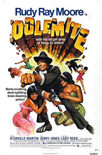 72341 DOLEMITE Movie Blaxploitation Shaft Decor Wall 36x24 Poster Print