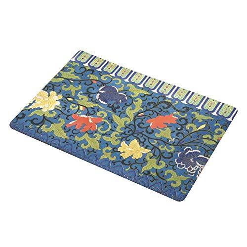 Wifehelper Folk-Custom Antislip deurmat wateropname tapijt met badkamermat badkamer slaapkamer decor