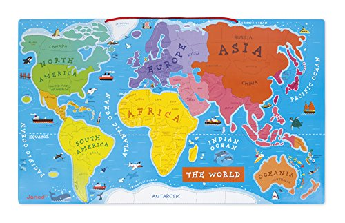 JANODパズルワールドマップ正規品箱入り