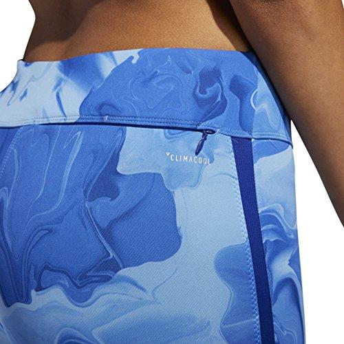 adidas Damen Response Tight, Aero Blue/Raw Grey/Mystery Ink, XS - 4