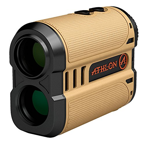 Athlon Optics , Midas , Laser Rangefinder , 1200 Yard Desert Tan ,