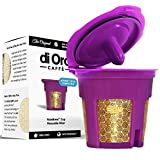 di Oro Caffè - MaxBrew 24K Gold Reusable K-Cup Filter for Keurig 2.0/1.0