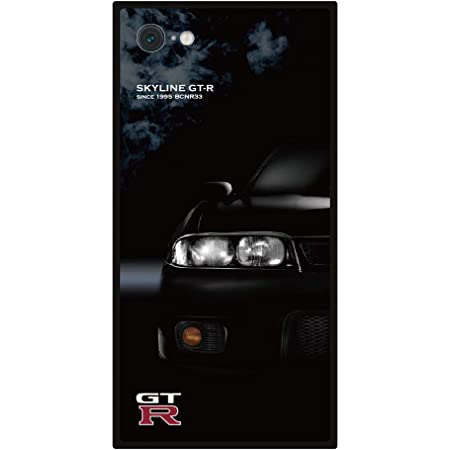 GT-R スクエア型iPhoneケース for BCNR33 (iPhone7/8/SE(第2世代))
