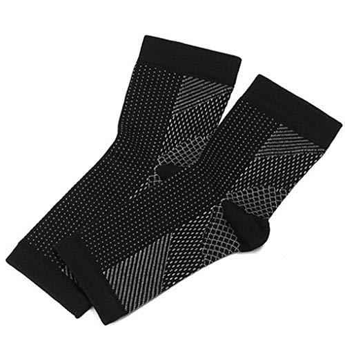 Qimao Frauen Anti Fatigue Knöchelschutz Nylon atmungsaktiv Preßhülse Socken