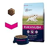 Eukanuba Puppy Small Breed Trockenfutter (für Welpen kleiner Hunderassen, Premiumnahrung mit Huhn), 3 kg Beutel - 4