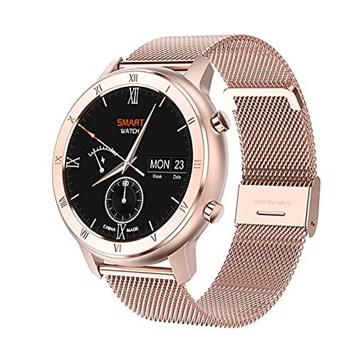 Full Touch Smart Watch mujeres IP68 pulsera impermeable ECG monitor de ritmo cardíaco sueño Monitoreo deportes smartwatch para damas