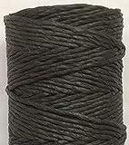DALIU 100 Yardas/Carrete Papel de Color Cuerda Papel Rafia Twine Papel Decorativo Twine 2 MM, Negro