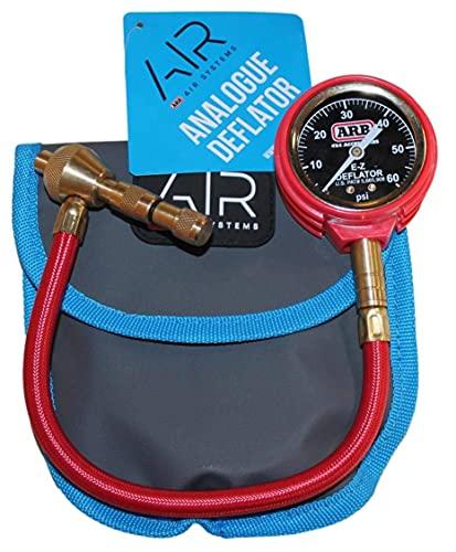 ARB ARB505 E-Z Deflator Kit 10-60 PSI Reifendruckmesser Rapid Air Down Offroad Kit (PSI), blau